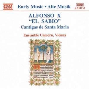 Alfonso X 'El Sabio': Cantigas de Santa Maria Product Image