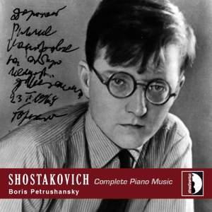 Shostakovich - Complete Piano Music