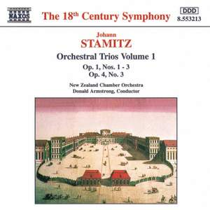 Johann Stamitz - Orchestral Trios, Vol. 1 Product Image
