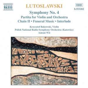 Lutosławski: Symphony No. 4 & other orchestral works