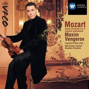 Mozart - Violin Concertos 2, 4 and Sinfonia Concertante