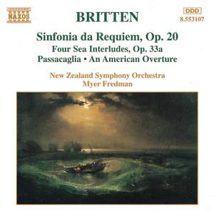 Britten: Sinfonia da Requiem, Op. 20, etc. Product Image