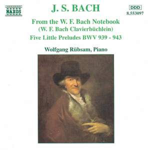 J S Bach: From the W.F. Bach Notebook