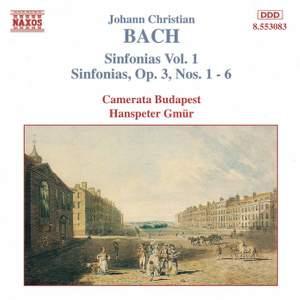 J. C. Bach: Sinfonias, Vol. 1