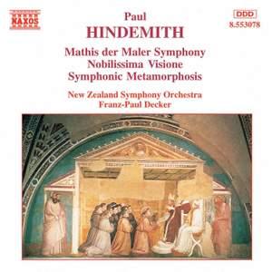 Hindemith: Symphony 'Mathis der Maler', Nobilissima Visione & Symphonic Metamorphoses