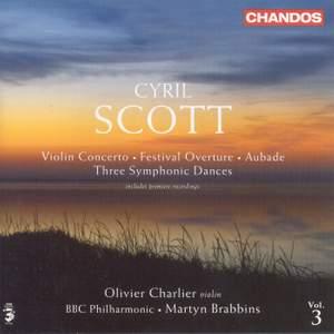 Cyril Scott - Orchestral Works Volume 3