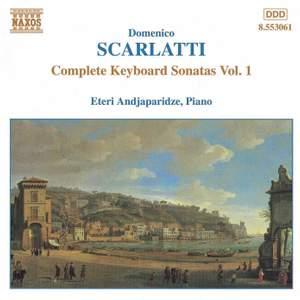 Scarlatti - Complete Keyboard Sonatas Volume 1 Product Image