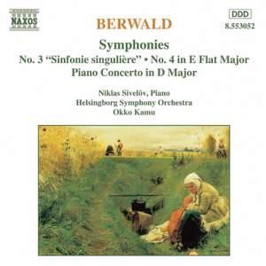 Berwald: Symphony No. 3 in C major 'Sinfonie singulière', etc.