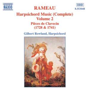 Rameau: Harpsichord Music, Vol. 2 Product Image