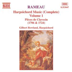 Rameau: Harpsichord Music, Vol. 1 Product Image