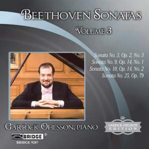 Beethoven - Piano Sonatas Volume 3