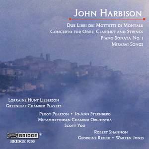 John Harbison: Selected works Product Image