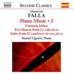 Falla: Piano Music, Volume 2