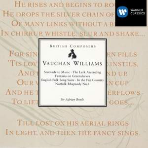 Vaughan Williams: Serenade to Music, The Lark Ascending & other favourites Product Image