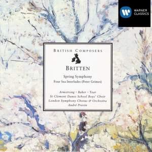 Britten: Spring Symphony, Op. 44, etc.
