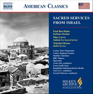 American Classics - Sacred Services from Israel