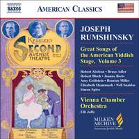 American Classics - Joseph Rumshinsky and Other Songwriters of his Circle