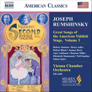 American Classics - Joseph Rumshinsky and Other Songwriters of his Circle Product Image
