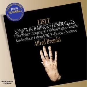 Liszt: Funérailles and Piano Sonata