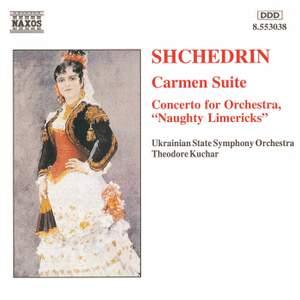 Shchedrin: Carmen Suite & Concerto for Orchestra No. 1