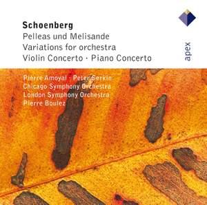 Schoenberg: Pelleas und Melisande, Op. 5, etc. Product Image