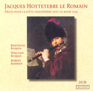 Hotteterre: Pieces for Transverse Flute and Bass (1715)