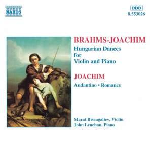 Brahms: Hungarian Dances, WoO 1 Nos. 1-21, etc.