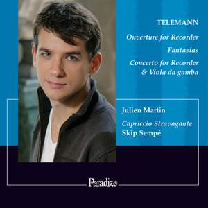 Telemann: Overture (Suite) TWV 55:a2 in A minor for recorder (flute), strings & b.c., etc. Product Image