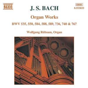J. S. Bach: Organ Works