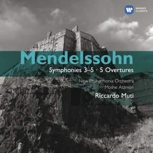 Mendelssohn - Symphonies Nos. 3 - 5 & Overtures