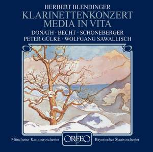 Blendinger: Clarinet Concerto & Media in vita