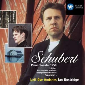 Schubert: Piano Sonata No. 19 in C minor D958, fragments & lieder