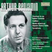 Benjamin: Overture to Italian Comedy, Cotillon, North American Square Dance