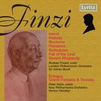 Finzi: A Severn Rhapsody, Eclogue & other works