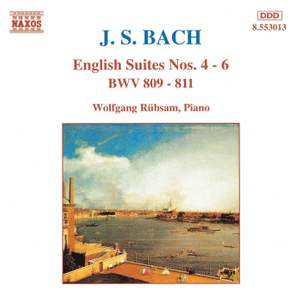 Bach, J S: English Suite No. 4 in F major, BWV809, etc.