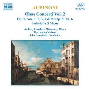 Albinoni: Oboe Concertos, Vol. 2