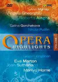 Opera Highlights Volume I
