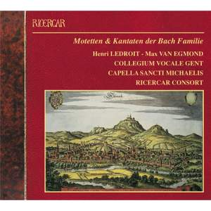 Motets & Cantatas by the Bach Family Product Image