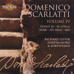 Domenico Scarlatti - The Complete Sonatas Volume 4