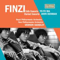 Finzi: Clarinet Concerto & Cello Concerto