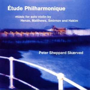 Étude Philharmonique