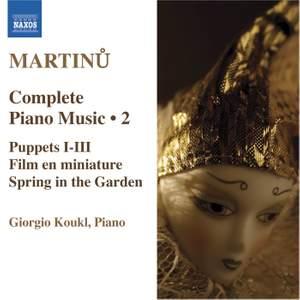 Martinu - Complete Piano Music Volume 2