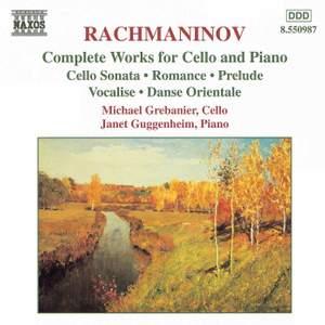 Rachmaninov: Complete Works for Cello & Piano