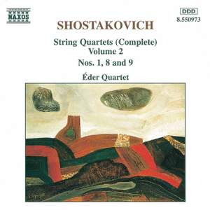 Shostakovich: String Quartet No. 8 in C minor, Op. 110, etc.