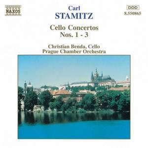 Stamitz, C: Cello Concerto No. 1 in G major, etc.