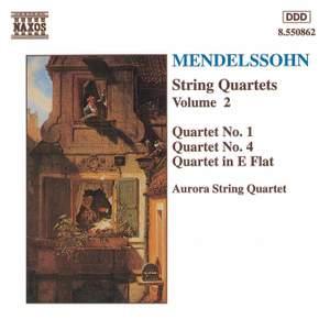 Mendelssohn: String Quartets. Vol. 2
