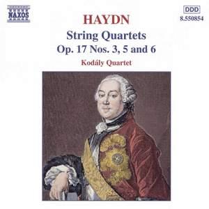 Haydn: String Quartet, Op. 17 No. 6 in D major, etc.