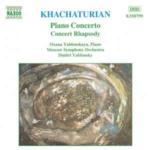 Khachaturian: Piano Concerto & Concerto Rhapsody Product Image