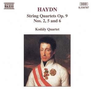 Haydn: String Quartets Op. 9 Nos. 2, 5 & 6