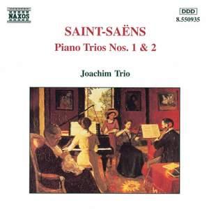 Saint-Saëns: Piano Trios Nos. 1 & 2 Product Image